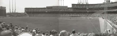 Composite view from the bleachers (Source: LP, 1975)