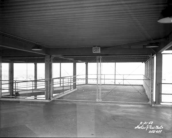 A sample of the concourses in the main grandstand (very plain) (Source: MNHS)
