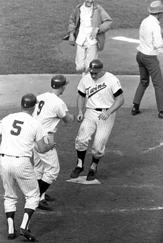 A Killebrew walk-off homer in 1965 (Source: MNHS)